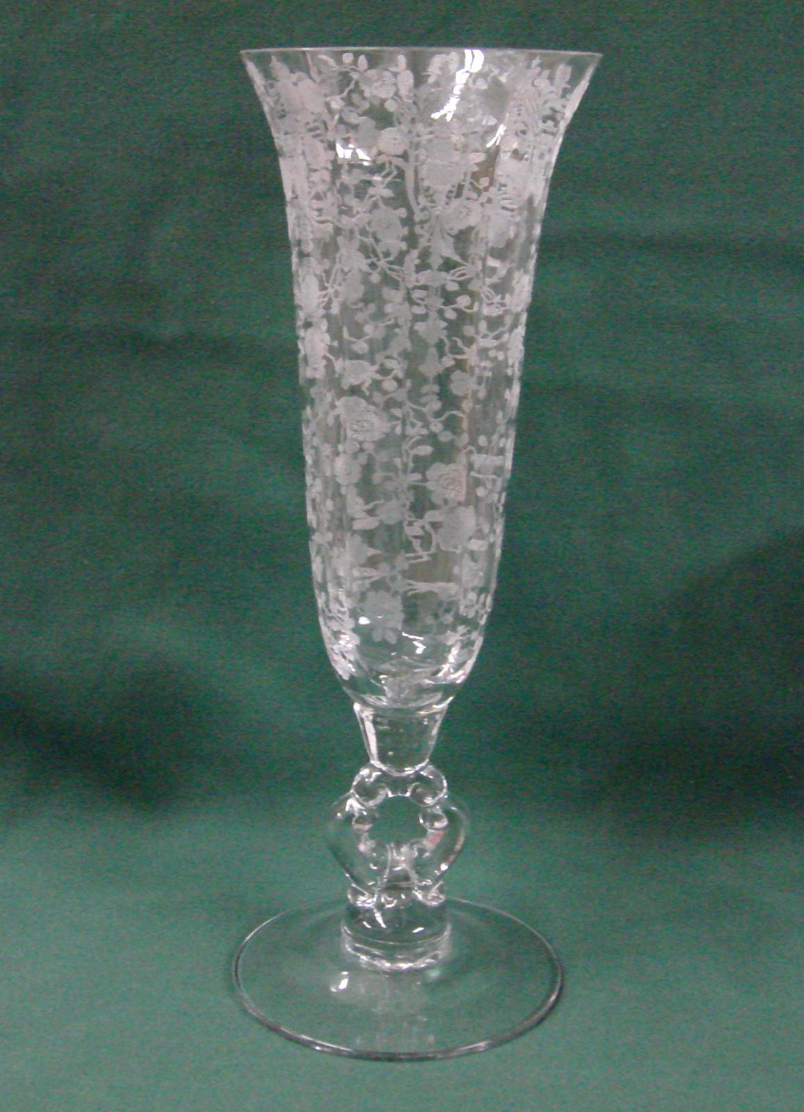 "Best 1237 Wiccan Images On Pinterest: Cambridge ROSE POINT 9-7/8"" Keyhole Vase 1237 BEST!"